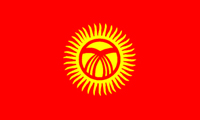 Kyrgyzstan Flag